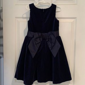 Gymboree Dresses - Navy velvet dress